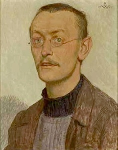 One of the rare portraits of Hesse as a young man