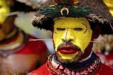 Face and body art, New Guinea