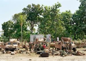 Beach Landing Site Haiti 2010