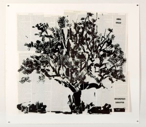 Big Tree-2012-Linocut
