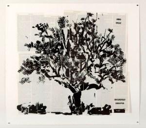 Big Tree-2012-Linocut