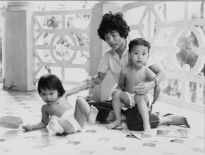 le family photo Hue 1961