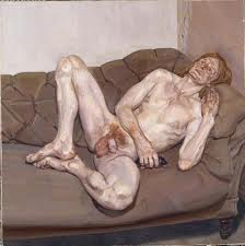 Freud Naked Man with Rat