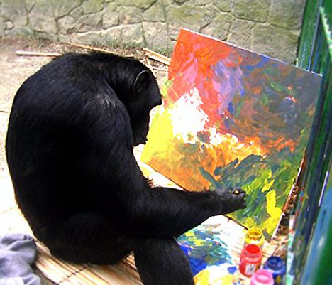 jimmy-painting-chimp