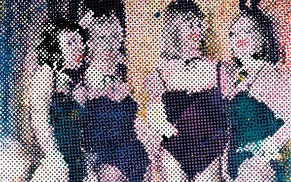 Polke Bunnies 1966