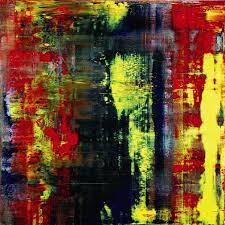 Clapton's Abstraktes Bild